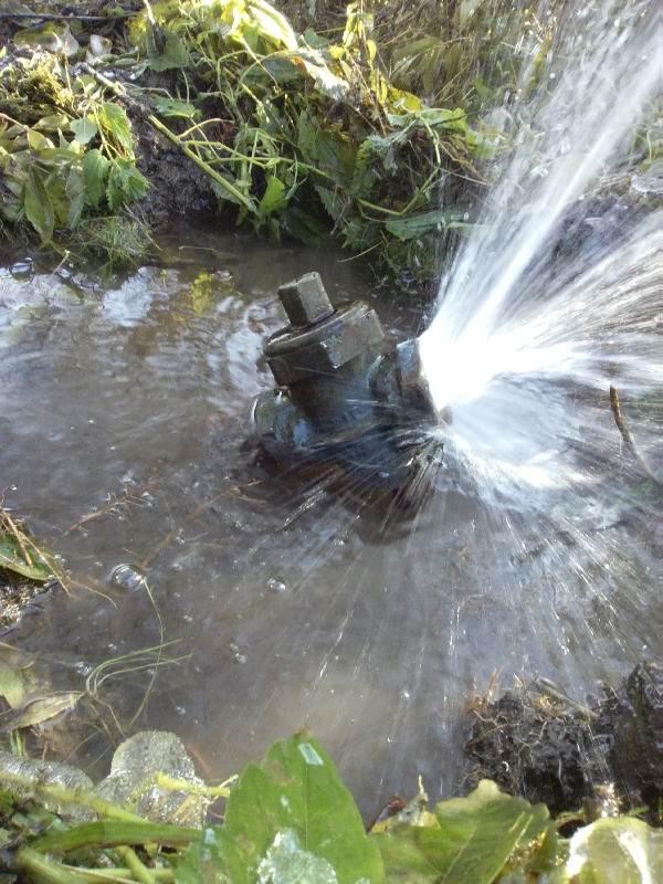 Устранение неполадок с водоснабжением