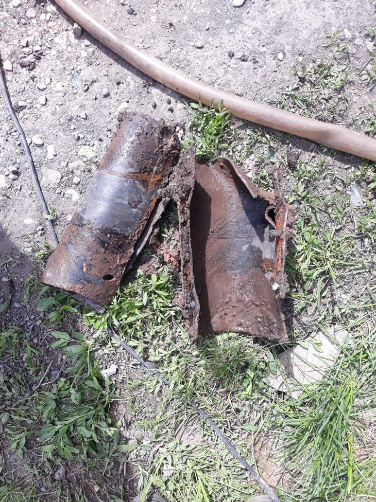 27 мая 2019 года устранена утечка на водопроводе по ул. Школьная с.ЦУП им.М.Горького